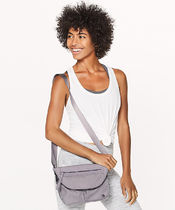 LULULEMON◆Festival Bag II 5L◆Dark Chrome