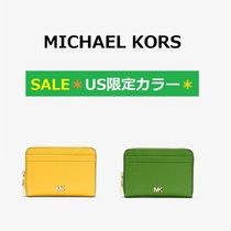 ◆MK◆SALE◆Mercer Small Pebbled Leather Wallet