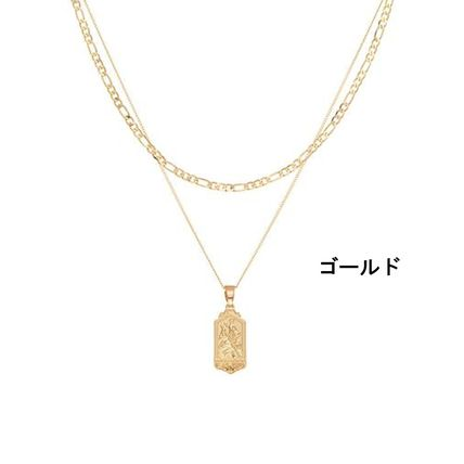 Chained & Able ネックレス・チョーカー 送料関税無料 Chained & Able☆ミニタグ&チェーンネックレス*2色(4)