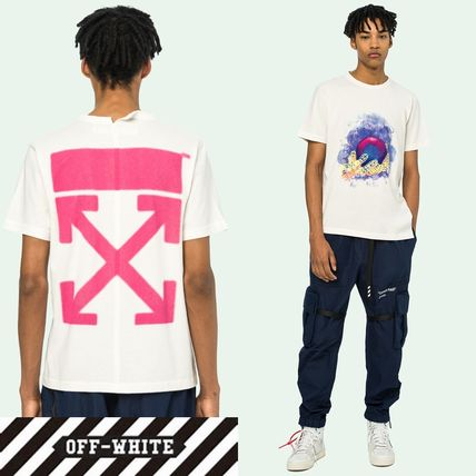 SALE☆芸能人愛用☆Off-White☆WORLD HAND T-SHIRT☆ホワイト