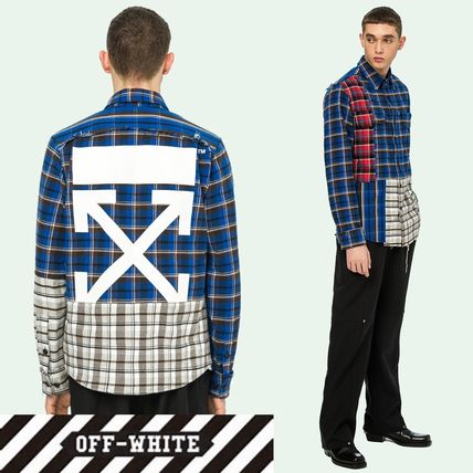 SALE☆芸能人愛用☆Off-White☆MULTICOLOR CHECKED SHIRT
