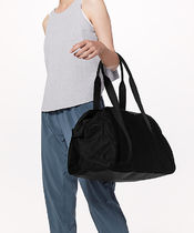 LULULEMON◆Out of Range Duffel 33L◆Black