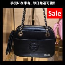 2018年最新作 Tory Burch BOMBE★ CROSSBODY CHAIN 50652 Black