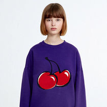 18AWコレクション☆BIG CHERRY SWEATSHIRT/全5色/KIRSH