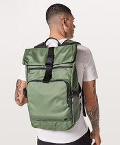 LULULEMON◆Not Lost Backpack 27L◆Green Twill