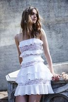 For Love & Lemons  Cosmic Tiered Lace Dress   ワンピース
