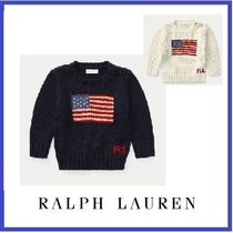 Ralph Lauren Flag Cotton Sweater 3M-24M