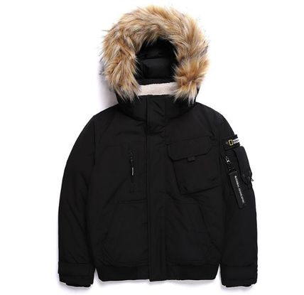 ★NATIONAL GEOGRAPHIC★Signature Blouson Duck Down Jumper