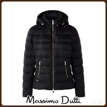 MassimoDutti♪FEATHER DOWN JACKET WITH DETACHABLE HOOD