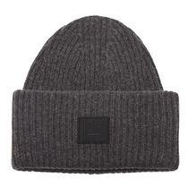 【送料関税込】Acne Studios★knit beanie hat★Dark-grey
