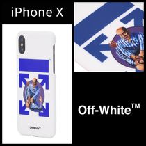 "OFF-WHITE【iPhoneX Case】""FIGHT""デザイン""送料関税込み"""