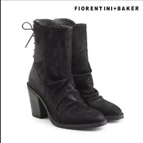 Fiorentini+Baker(フィオレンティーニ+ベイカー) ショートブーツ・ブーティ Fiorentini+Baker★Sassy Suede Ankle Boots with Lace-Up Back