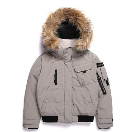 ★NATIONAL GEOGRAPHIC★W Signature Blouson Duck Down Jumper