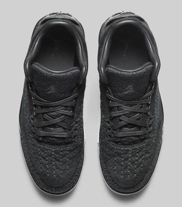 super popular 3a342 8623c ★【NIKE】追跡発送 ナイキ Air Jordan 3 Retro Flyknit Black