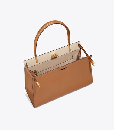 Tory Burch ハンドバッグ 日本未発売!2018AW【Tory Burch】LEE RADZIWILL SATCHEL(4)