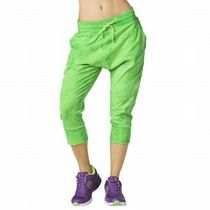 ☆ZUMBA・ズンバ☆Forever Wild Cropped Harem Dance Pants