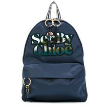【 See by Chloe 】ロゴワッペン バックパック