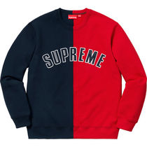 1 WEEK Supreme FW 18 Split Crewneck Sweatshirt