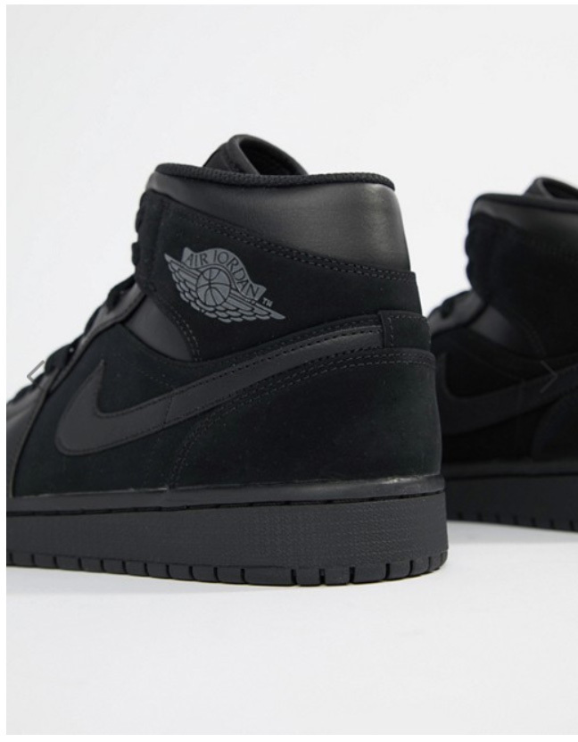Other Nike Air Jordan 1 Mid Mens Hi Top Basketball Trainers 554724 Sneakers Shoes 050