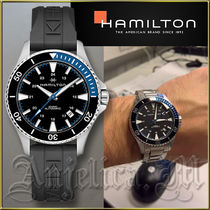 ★送料関税追跡込★Hamilton Khaki Navy Scuba Watch H82315331