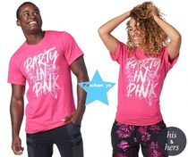 H30.7月ユニセックス【ZUMBA】ズンバ Party In Pink Unisex Tee