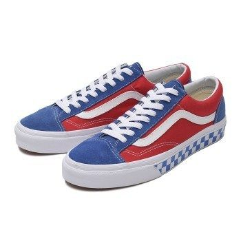 9032f88dd91734 VANS スニーカー 国内配送 VANS Style 36 OLD SKOOL BMX CHECKER BLUE   RED ...