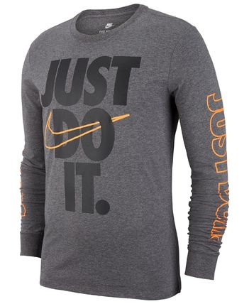 Nike Tシャツ・カットソー NIKE★新作/送料込★US限定★JUST DO IT袖ロゴTシャツ(8)