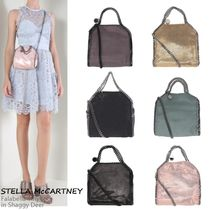 VIP価格!Stella McCartney Falabella Tiny tote in Shaggy Deer