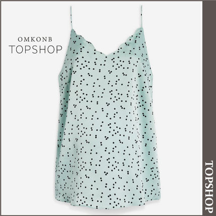 TOPSHOP マタニティトップス 【国内発送・関税込】TOPSHOP★MATERNITY Spot Scallop Cami