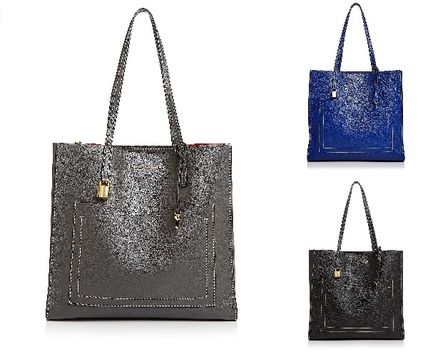 MARC JACOBS☆Grind T-Pocket Leather Tote