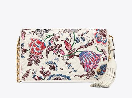 Tory Burch ショルダーバッグ・ポシェット 新作 Tory Burch Fleming Printed Flat Wallet Cross Body (2)