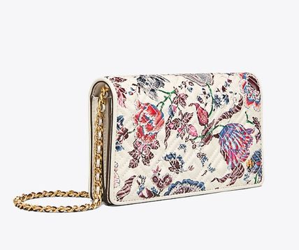 Tory Burch ショルダーバッグ・ポシェット 新作 Tory Burch Fleming Printed Flat Wallet Cross Body (3)