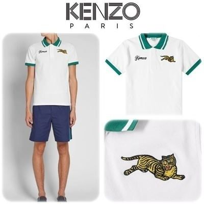 NEW KENZO Jumping Tiger ポロシャツ