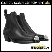 CALVIN KLEIN 205 W39 NYC ヴィンテージ レザー ブーツ