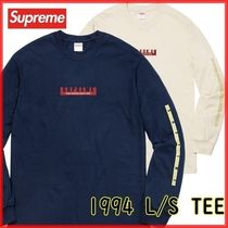 Supreme 1994 L/S Tee 18 FW  WEEK 0