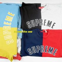 Supreme  Split Crewneck Sweatshirt 18 FW  WEEK 0
