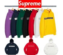 Supreme Perforated Leather Hooded Sweatshirt 18 FW  WEEK 0