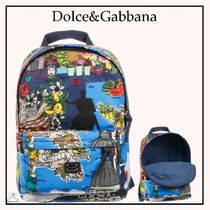 Dolce&Gabbana☆TOUR OF ITALYバックパック(38cm)blue