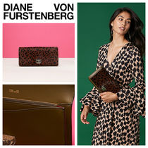 【DVF】Ж日本未入荷ЖEast West Haircalf Clutch