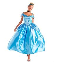Cinderella Prestige Costume for Adults by Disguise