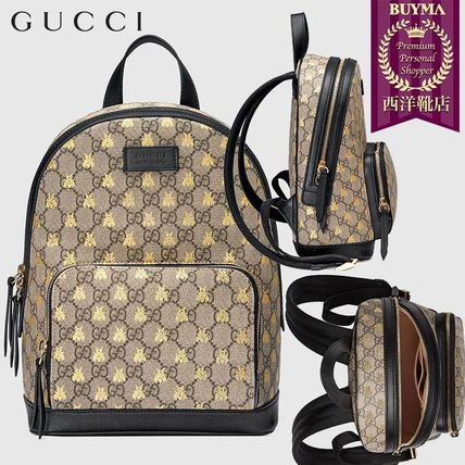 ce529bc0181 BUYMA| 正規品保証 GUCCI☆18秋冬☆GG SUPREME BEES BACKPACK 427042 ...