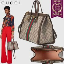 【正規品保証】GUCCI★18秋冬★OPHIDIA MEDIUM TOP HANDLE BAG