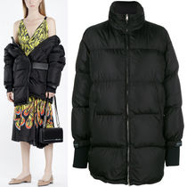 PR1226 OVERSIZED DOWN JACKET WITH VELCRO STRAP