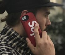 18AW★Supreme Mophie iPhone 8 Plus Red スマホ ケース
