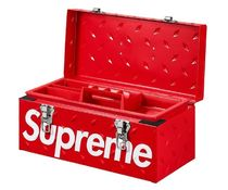 18AW★Supreme Diamond Plate Tool Box Red 工具ボックス