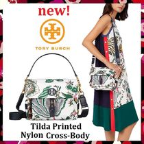 セール 新作 Tory Burch Tilda Printed Nylon Cross-Body
