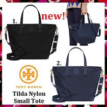 セール新作 Tory Burch Tilda Nylon Small Tote 便利2way トート