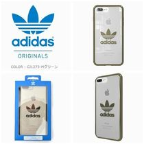 adidas originals iphone8 Plus OR-clear case TPU ハードケース