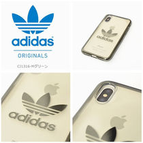 adidas originals iphoneX ケース  OR-clear case ハードケース