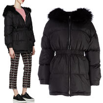 PR1230 FOX FUR TRIMMED DOWN JACKET